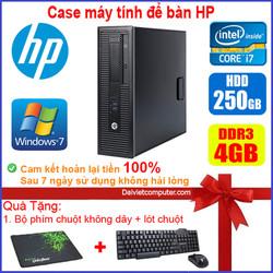 Case máy tính để bàn HP CPU Pentium G3020 / Core i7-4770 / Ram 4GB / HDD 250GB-500GB / SSD 120GB-240GB [QUÀ TẶNG: Bộ phím chuột không dây + bàn di chuột] HPI74 – SDV