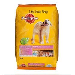 Hạt Cho Chó Con Pedigree Puppy Vị Gà Trứng 1 5Kg
