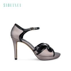 Giày sandal cao gót 10cm quai chéo Sablanca 5050SN0091