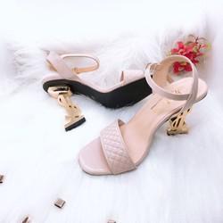 [TRỢ GIÁ] Giày cao gót quai ngang đế 7cm, sang chảnh