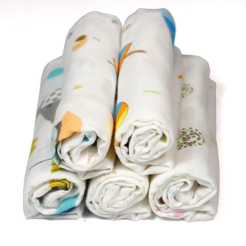 Khăn sữa , khăn xô cotton sợi tre cao cấp an toàn cho trẻ sơ sinh - đồ cho trẻ sơ sinh - KSST 3