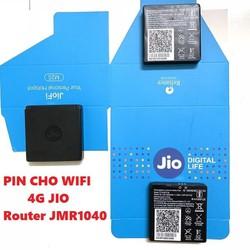 (Rẻ-Bền-Đẹp) Pin Củ Phát Wifi JIO JMR 1040- Thiết Bị Mạng Chuyên Dụng Chính Hãng