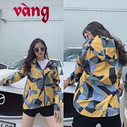 Áo khoác dù 3D nam nữ 2 lớp vải mero, mặc 4 mùa, 8 màu