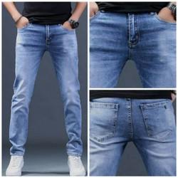 quần bò jean nam trung niên trung tuổi dáng thụng túi chéo ẢNH THẬT có size cho người 100kg