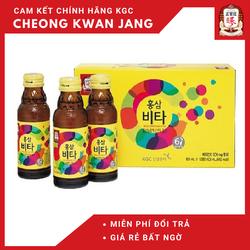 Nước tăng lực hồng sâm Vita KGC - 100ml x 10 Chai - Cheong Kwan Jang