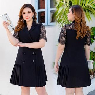 Váy cổ vest xếp ly - VBEO287 thumbnail