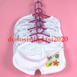 Móc quần áo hình gấu 2in1 điều chỉnh ngắn dài kèm móc nối