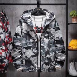 áo khoác 3D dù nam