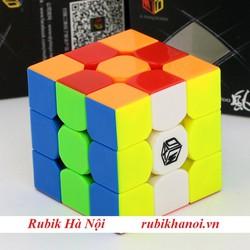 Rubik 3x3 Qiyi Xman Tornado Stickerless Có Nam Châm Rất Tốt