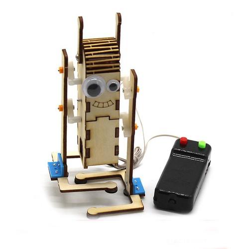 Diy Điều Khiển Từ Xa Robot Mắt Lớn Bằng Gỗ Điều Khiển Từ Xa Công Nghệ Đồ Chơi Robot Tự Làm Lg20