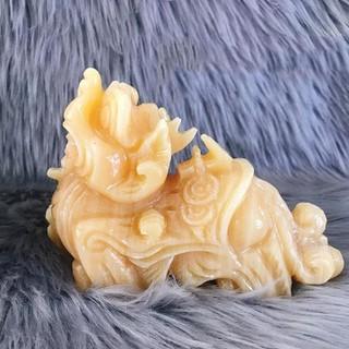 Cặp Tỳ Hưu Đứng Ngọc Hoàng Long - TH50616 thumbnail