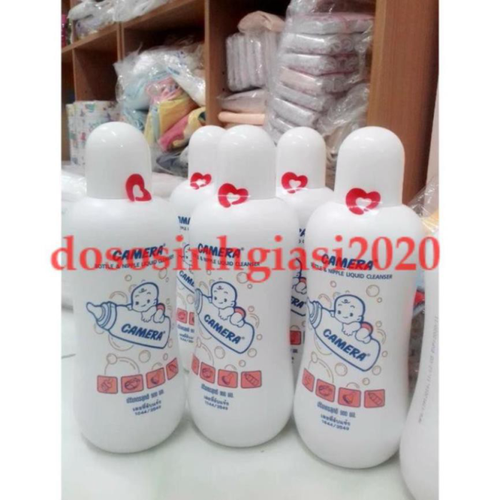 Nước rửa bình sữa cho bé-Nước Rửa Bình Sữa Và Núm Vú Camera 500ml