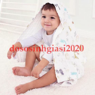 Chăn cho bé-Chăn sợi tre 6 Lớp Mền sơ sinh (hàng đẹp) Khăn tắm(115 110) - SKU219-bb4 thumbnail