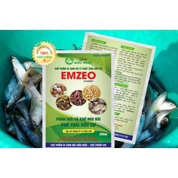 Chế phẩm sinh học ủ rác nhà bếp làm phân bón trồng rau sạch - EMZEO khử sạch mùi hôi