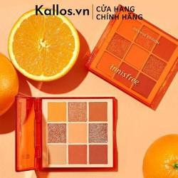 [TEM CHÍNH HÃNG] Phấn Mắt Innisfree. Juicy Orange Eyeshadow Palette