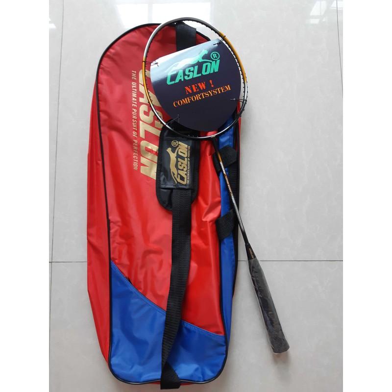 Vợt cầu lông Caslon khung 100% carbon (Tặng 1 lần căng dây và quấn cán vợt) – CASLON