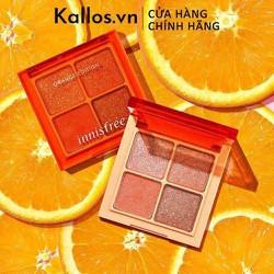 [TEM CHÍNH HÃNG] Phấn Mắt Innisfree. Jewel Glow Topper Eyeshadow Orange