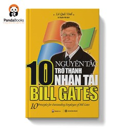 Sách - 10 nguyên tắc trở thành nhân tài của Bill Gates
