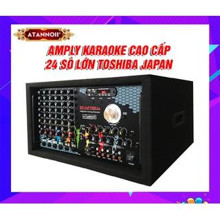 [Được xem hàng - Âm ly Công suất lớn] Amply karaoke Bluetooth ATANNOII HD24F - 24 sò Công Suất Lớn - HD24F thumbnail