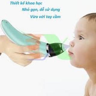 Máy Hút Mũi Điện Tử Đầu Mềm Cho Bé -máy hút mũi chất lượng cao - hút mũi cho bé thumbnail