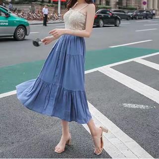 Chân váy xoè dài - cvbb5 thumbnail