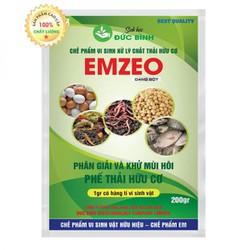 Chế phẩm vi sinh EMZEO - Chế phẩm sinh học EM gốc dạng bột phân hủy và khử mùi hôi chất thải hữu cơ