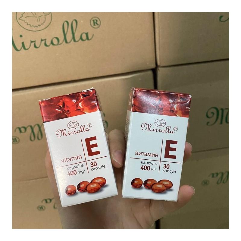 vitamin e đỏ nga mirrola hàm lượng 400 – 01000