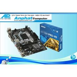 Bo mạch chủ Main MSI H110M-PRO-VD fullbox socket 1151 bảo hành 36 tháng