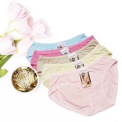 QUẦN LÓT NỮ- COMBO 5 quần cotton vải mịn from 50-55kg - ĐƯỢC XEM HÀNG TRƯỚC