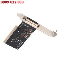 Card chuyển đổi PCI sang LPT tạo thêm cổng LPT dùng cho máy in hóa đơn, in mã vạch, các thiêt bị công nghiệp
