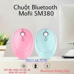 Có Sẵn Chuột Bluetooth Không Dây Cao Cấp Mofii Sm380 Dùng Cho Điện Thoại Máy Tính Bảng Laptop Máy Tính Bàn Tivi