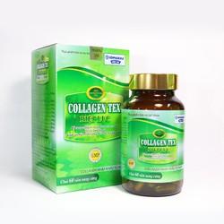 Collagen Tex Diệp lục dạng viên giúp đẹp da và cân bằng nội tiết nữ