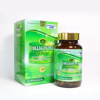 Collagen Tex Diệp lục dạng viên giúp đẹp da và cân bằng nội tiết nữ - diepluctex-vien thumbnail