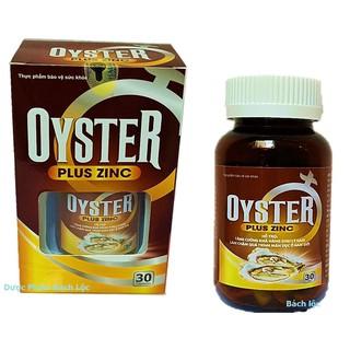 [Miễn Phí Ship] Hàu Biển Oyster Plus Zinc - tăng cường sinh lý phái mạnh- Lọ 30 viên - Hàu Biển Oyster Plus Zinc thumbnail