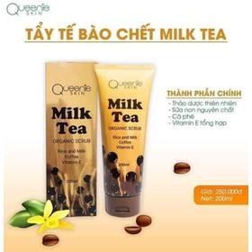 Tẩy tế bào chết sữa tươi Trân Châu đường đen Queenie skin - Tbc