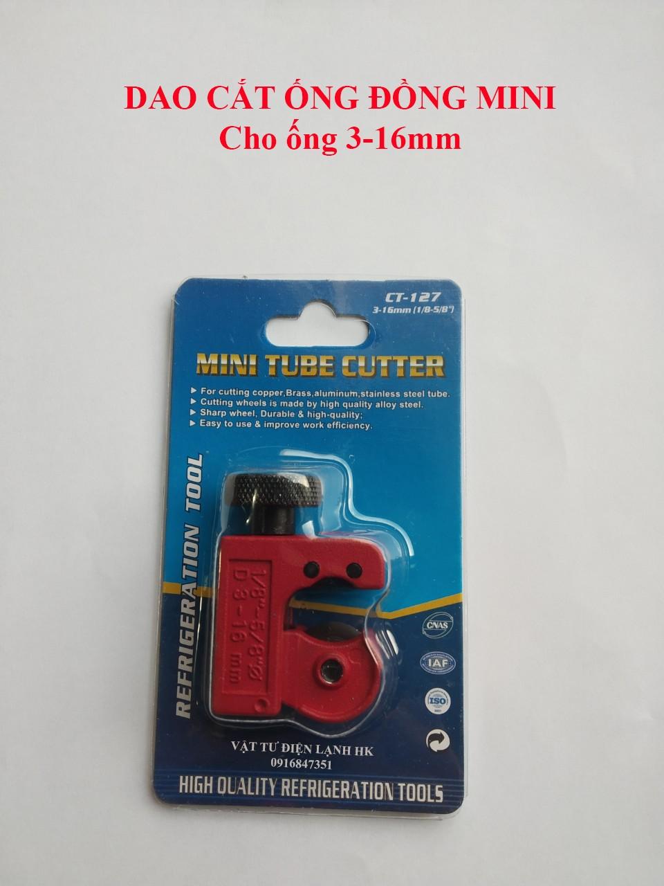 Hình ảnh DAO CẮT ỐNG ĐỒNG MINI CT 127 Dao nhỏ