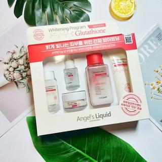 Bộ dưỡng trắng da Angel s Liquid Whitening Program Glutathione 5SP - SETGLU5SP thumbnail