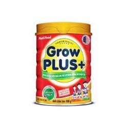 sữa bột nutifood Grow Plus+ Đỏ lon 900g