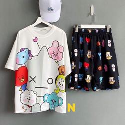 Set áo và quần ngắn nữ cực cute