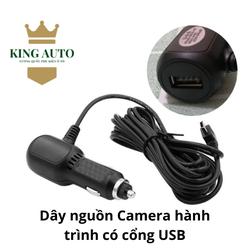 KING AUTO - Dây Nguồn Camera Hành Trình Mini Usb Cắm Tẩu