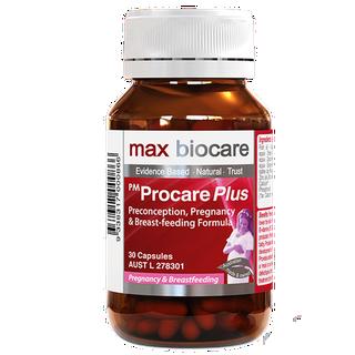 vitamin cho mẹ bầu procare max biocare - max biocare thumbnail