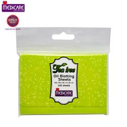 Giấy thấm dầu MEDICARE Tea Tree 100 miếng