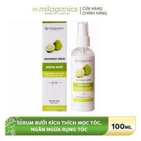 Serum Bưởi Kích Thích Mọc Tóc, Ngăn Ngừa Rụng Tóc MILAGANICS 100ml-250ml - 8936089070004