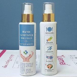 Gel rửa tay khô sanitizer solution 250ml - Gel rửa tay khô - 12-2db thumbnail