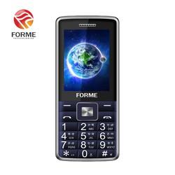 Điện Thoại Di Động Forme D555+, màn hình 2.4inch, Pin 1800mAh, Loa 3D, font chữ lớn - Phân phối chính hãng