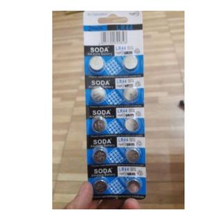 pin cuc SODA 1,5V vỉ 10 viên - pin cuc SODA 1,5V vỉ 10 viên 2
