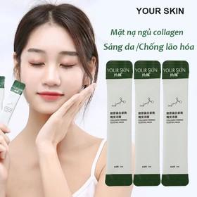 Mặt nạ ngủ collagen YOUR SKIN dạng gel chống lão hóa làm sáng da mặt nạ ngủ dưỡng ẩm mặt nạ ngủ dưỡng trắng mặt nạ nội địa Trung - KR-MN30