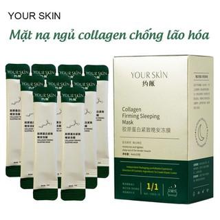 [SET 4 GÓI] Mặt nạ ngủ collagen YOUR SKIN dạng gel dưỡng ẩm chống lão hóa làm sáng da mặt nạ ngủ cấp ẩm mặt nạ nội địa Trung mặt nạ ngủ dưỡng trắng - JS-MN30 thumbnail