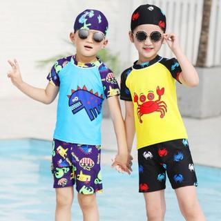 Bộ đồ bơi trai, bé gái - quần áo bơi cho bé trai, bé gái - BDBBTRD thumbnail
