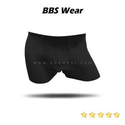 Boxer Lụa Sữa BBS WEAR Xuất Nhật, Quần Lót Nam Thun Lụa Chất Đẹp Sịp Mát Lạnh (Black)